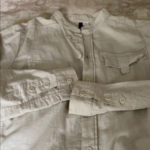 Linen shirt H$M